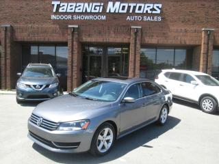Used 2015 Volkswagen Passat NO ACCIDENTS | BIG SCREEN | LEATHER | SUNROOF | REAR CAM for sale in Mississauga, ON