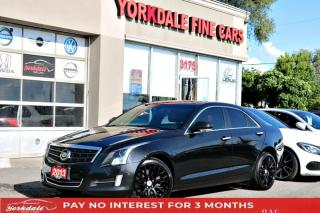 Used 2013 Cadillac ATS RED INT AWD NAVI BACK UP CAM BOSE SOUND SYSTEM SUNROOF for sale in Toronto, ON