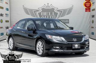 Used 2015 Honda Accord Sedan Touring, NAVI, SUNROOF, BLIND SPOT CAM, BACK-UP CAM, LEATHER for sale in Toronto, ON