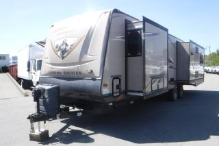 Used 2013 Prime Time Lacrosse 327RES Touring Edition with 3 Slides Travel Trailer for sale in Burnaby, BC