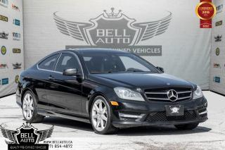 Used 2015 Mercedes-Benz C-Class C 350, NAVI, BACK-UP CAM, PANO ROOF, AMG PKG for sale in Toronto, ON
