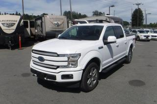 Used 2018 Ford F-150 Lariat SuperCrew 5.5-ft. Bed 4WD EcoBoost for sale in Burnaby, BC
