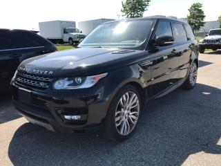 Used 2015 Land Rover Range Rover Sport SUPERCHARGED, NAVI, PANO, CAM, HEATED LTHR for sale in Toronto, ON