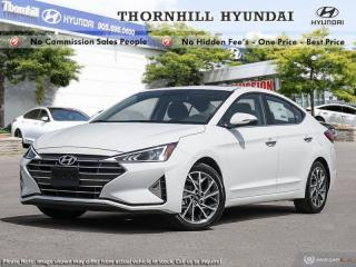 New 2020 Hyundai Elantra Luxury  - Luxury Driven -  High Comfort for sale in Thornhill, ON