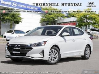 New 2020 Hyundai Elantra Essential IVT  - Fuel Efficient for sale in Thornhill, ON