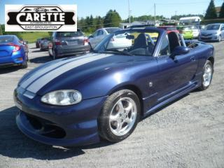 Used 2002 Mazda Miata MX-5 Convertible for sale in East broughton, QC