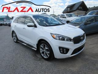 Used 2016 Kia Sorento 3.3L SX+ 7-Seater for sale in Beauport, QC