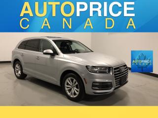 Used 2017 Audi Q7 3.0T Progressiv NAVIGATION|PANOROOF|LEATHER for sale in Mississauga, ON