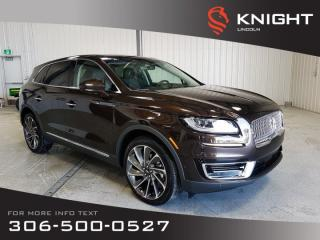 Used 2019 Lincoln Nautilus RESERVE for sale in Moose Jaw, SK