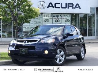 Used 2008 Acura RDX at  w Tech. Pkg 2.3L Turbo, SH-AWD, Navi for sale in Markham, ON