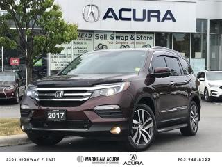 Used 2017 Honda Pilot V6 Touring 9AT AWD Pano Roof, DVD, Navi, FREE Accessories for sale in Markham, ON