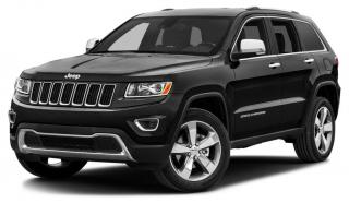 Used 2014 Jeep Grand Cherokee Limited POWER SUNROOF, PARK SENSE, REVERSE CAMERA, FACTORY REMOTE STARTER, HEATED GROUP for sale in Ottawa, ON