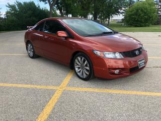 Used 2010 Honda Civic Si 6 MT / SI Vtec -  2.0L New Tires! for sale in Winnipeg, MB