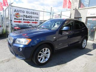 Used 2013 BMW X3 XDRIVE 28I CUIR, TOIT Panoramique Cuir M for sale in Montréal, QC