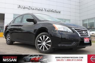 Used 2015 Nissan Sentra One owner accident free trade. Nissan certified preowned! for sale in Toronto, ON