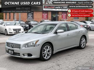 Used 2013 Nissan Maxima SV Accident-Free! Certified! for sale in Scarborough, ON