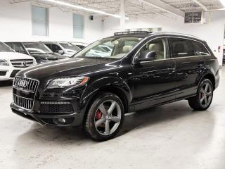 Used 2015 Audi Q7 VORSPRUNG ED/NAVI/360 CAMERA/7PASS/PANO! for sale in Toronto, ON