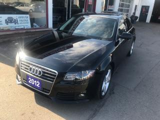 Used 2012 Audi A4 2.0T PREMIUM for sale in Hamilton, ON