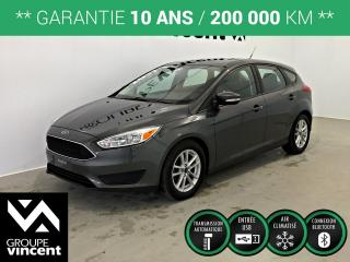 Used 2017 Ford Focus SE ** GARANTIE 10 ANS ** Pratique et économique! for sale in Shawinigan, QC