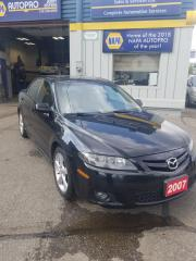 Used 2007 Mazda MAZDA6 LEATHER  SUNROOF for sale in Kitchener, ON
