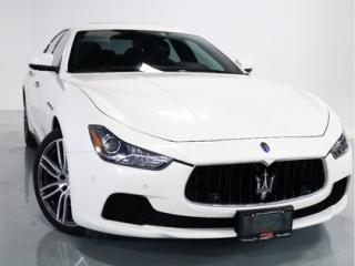 Used 2017 Maserati Ghibli SQ4   NAVIGATION   LOW KM   1-OWNER for sale in Vaughan, ON