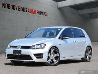 Used 2016 Volkswagen Golf R 2.0 TSI*Rearview CAM*NAV*Sport Suspension* for sale in Mississauga, ON