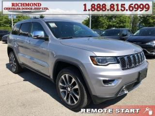 Used 2018 Jeep Grand Cherokee Limited for sale in Richmond, BC