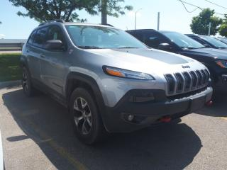 Used 2016 Jeep Cherokee Trailhawk**4X4**Pano Roof**Leather**Blind Spot for sale in Mississauga, ON