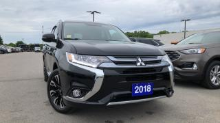 Used 2018 Mitsubishi Outlander Phev Se 2.0l Plug In Hybrid Leather Heated Seats /... for sale in Midland, ON