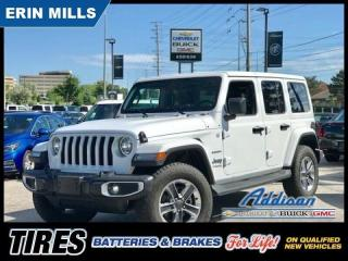 Used 2019 Jeep Wrangler Unlimited Jl Unlimited Sahara Navi|Heated Leather|Alpine Aud for sale in Mississauga, ON
