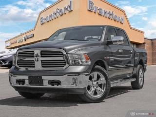Used 2017 RAM 1500 Big Horn  - Bluetooth -  SiriusXM - $238.63 B/W for sale in Brantford, ON