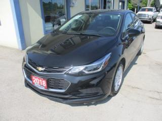 Used 2018 Chevrolet Cruze LIKE NEW LT MODEL 5 PASSENGER 1.4L - DOHC.. FACTORY WARRANTY.. BOSE AUDIO.. BACK-UP CAMERA.. POWER SUNROOF.. for sale in Bradford, ON