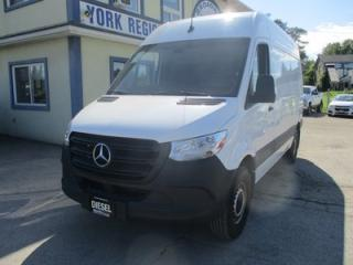 Used 2019 Mercedes-Benz Sprinter 3/4 TON CARGO MOVING 2 PASSENGER 3.0L - DIESEL.. HIGH ROOF CAB.. BLUETOOTH SYSTEM.. KEYLESS ENTRY & START.. for sale in Bradford, ON