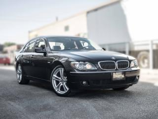 Used 2008 BMW 7 Series 750i I NO ACCIDENT I NAVIGATION for sale in Toronto, ON