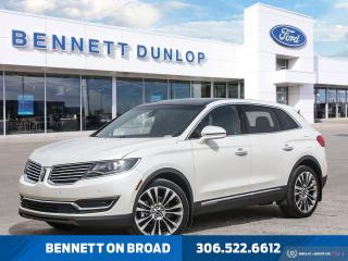 Used 2016 Lincoln MKX Reserve for sale in Regina, SK