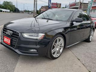 Used 2013 Audi A4 Premium Plus/Navi/Back-up Cam/Sunroof/Amazing!!!! for sale in Scarborough, ON