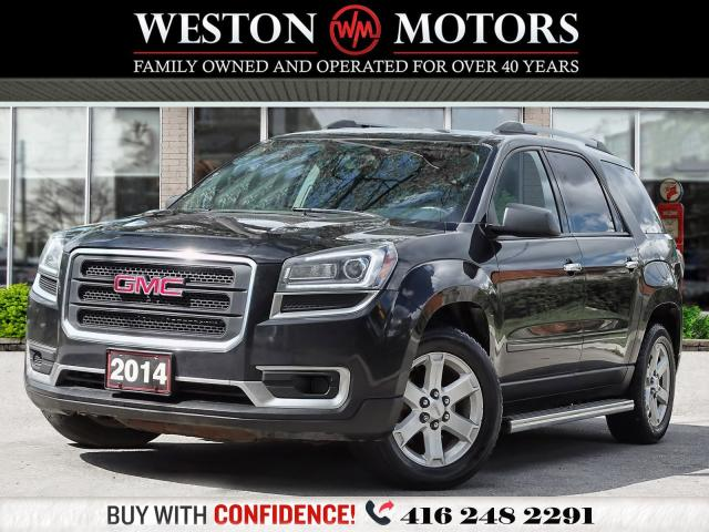 2014 GMC Acadia SLE2*AWD*7PASS*REV CAM*HEATED SEATS!*A MUST SEE!!*
