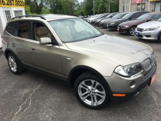 Used 2008 BMW X3 3.0Si/ AUTO/ AWD/ LEATHER/ SUNROOF/ ALLOYS! for sale in Scarborough, ON