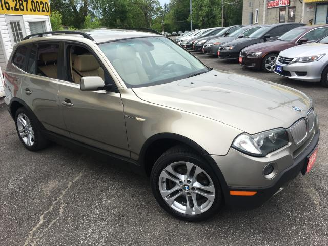 2008 BMW X3 3.0Si/ AUTO/ AWD/ LEATHER/ SUNROOF/ ALLOYS!
