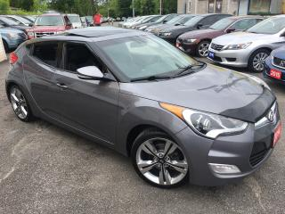 Used 2014 Hyundai Veloster Tech Pkg/ NAVI/ CAM/ SUNROOF/ ALLOYS/ LIKE NEW! for sale in Scarborough, ON
