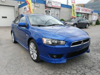 Used 2009 Mitsubishi Lancer ACCIDENT FREE | GTS | BLUETOOTH | MANUAL for sale in Oakville, ON