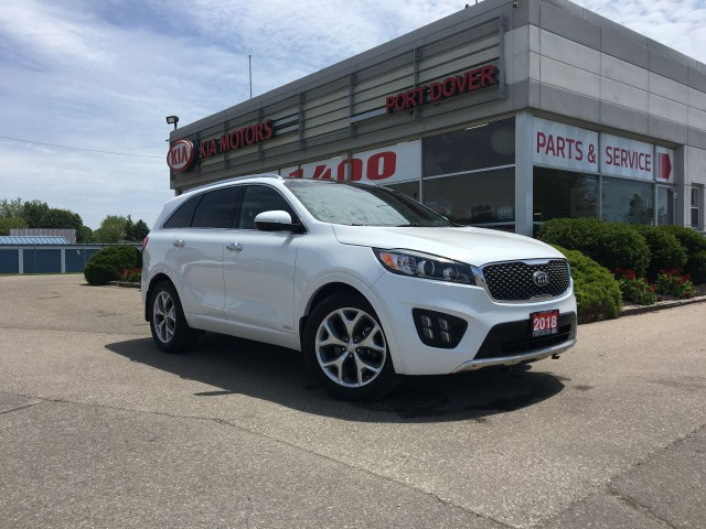 2018 Kia Sorento SX Turbo | Navigation | Low KMS!