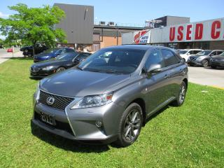 Used 2013 Lexus RX 350 F Sport~HUD~NAV.~ALL POWER OPTIONS~CERTIFIED for sale in Toronto, ON