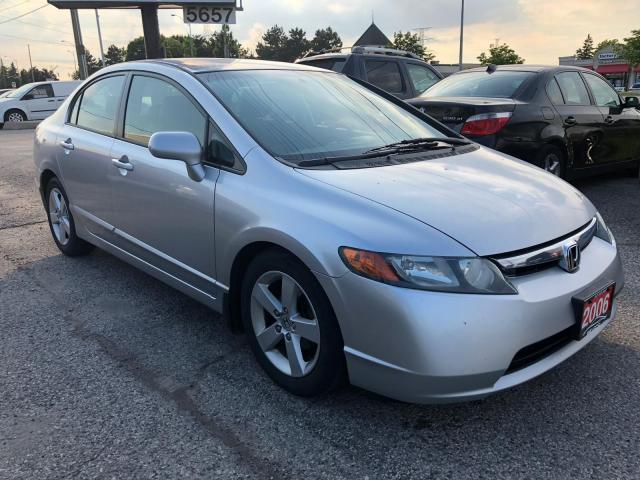 2006 Honda Civic LX, ACCIDENT FREE, SERVICE RECORDS, WARRANTY, CERT