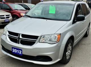 Used 2012 Dodge Grand Caravan SE for sale in Hamilton, ON