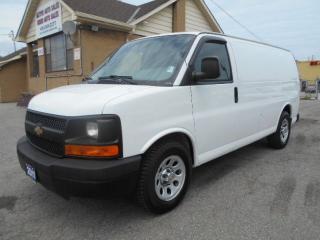 Used 2011 Chevrolet Express 1500 CARGO 4.3L V6 Divider Certified 142,000KMs for sale in Etobicoke, ON