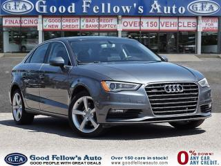 Used 2016 Audi A3 2.0L, AWD, LEATHER & POWER SEATS, POWER SUNROOF for sale in Toronto, ON