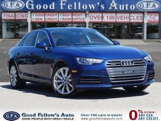 Used 2017 Audi A4 2.0 LITER, AWD QUATTRO, LEATHER SEATS, POWER SEATS for sale in Toronto, ON