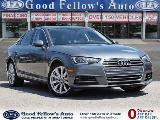 Used 2017 Audi A4 AWD, LEATHER& POWER & HEATED SEATS, PARKING ASSIST for sale in Toronto, ON