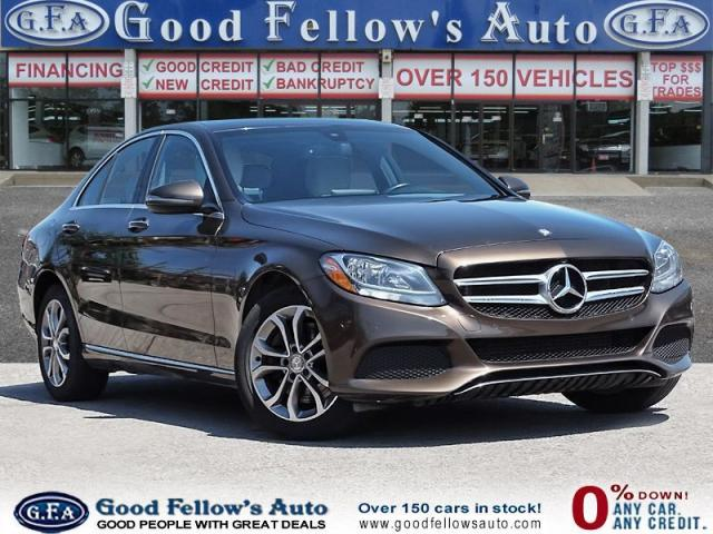 2016 Mercedes-Benz C 300 C300W4M, PANORAMIC ROOF, NAVIGATION, POWER SEATS